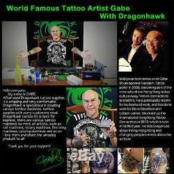 Professional Tattoo Kits Complete Set Machine Gun Lining And Shading Tattoo Inks