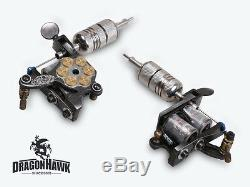 Professional Tattoo Machine Kit 5 Guns Power Supply 54 Safe Inks Set