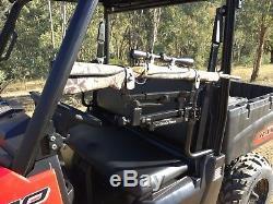 Quad Rest + UTV Converter Kit SmartRest Gun Rest Eagleye Quad Bike, UTV