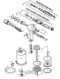 RAT932 Complete Truck Cab Kit (accepts Huck gun noses)
