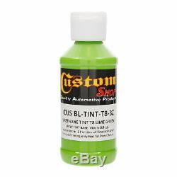 Raptor Lime Green Urethane Spray-On Truck Bed Liner Spray Gun, 8 Liters
