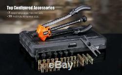 Rivet Gun Kit Rivnut Setting Tool Nut Setter NutSert Hand Riveter Working Pro