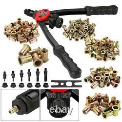 Rivet Gun Kit nut Thread Setting Tool Nuts Setter SAE Riveting