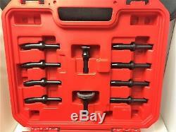 Rivet Gun Kit with 4x Rivet Gun Bucking Bar Rivet Sets and Tool Box BRAND NEW