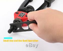 Rivet Nut Setter Kit Rivet Gun Tool Hand Riveter Rivnut Setting Metal Working