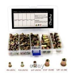 Rivet Nuts For Rivet Gun Kit Rivet Nut Tool Hand Riveter Assortment Set Nutserts