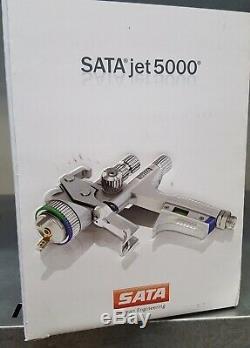 SATA jet 5000 HVLP 1.3 Spray Gun X Tool Kit RPS Cup