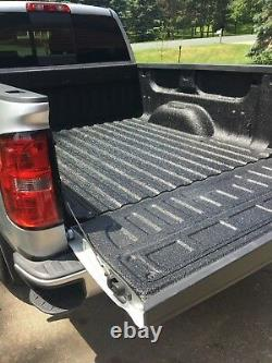 SPRAY IN on BEDLINER KIT Black 3 Gallons mixed Bed Liner with No Gun, 12 Liters