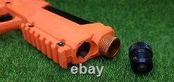 Sabre Pepper Spray Launcher Home Defense Kit Co2 Air Gun, Orange, 7 Shot SL7