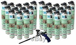 Seal Spray Closed Cell Insulating Foam Can Kit withGun Foam Applicator (600 BF)