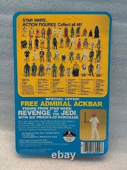 Sealed STAR WARS Kenner Hand Solo Hoth Outfit ESB 1980 MOC 48 Back REVENGE OFFER