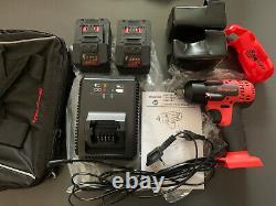 Snap On 18V Lithium Cordless 1/2 Inch Gun Impact Wrench Kit CTEU8815B Brand New