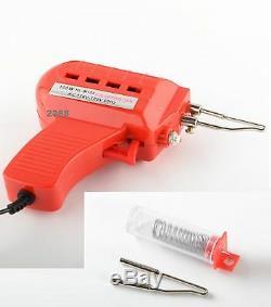 Soldering Gun 110v/120v 100W Kit Iron Solder Professional Style Sodering New