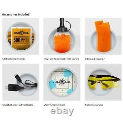 SplatRBall Full and Semi Auto Electric Rechargeable Soft Water Bead Blaster Kit