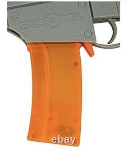 SplatRball Water Bead Blaster Kit, Orange/Grey