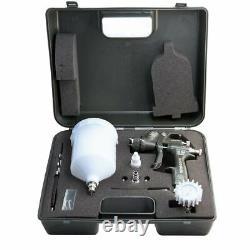 Spray gun Walcom Slim HTE kombat 1.5 airbrush Walmec in magnesium and kevlar kit