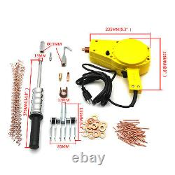 Standard Stud Welder Starter Spot Puller Kit Hammer Gun Auto Repair Tool Dent Pu