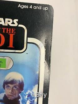 Star Wars ROTJ Luke Skywalker Jedi Knight Outfit 1983 action figure
