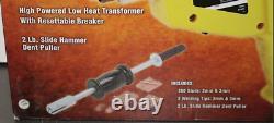 Stud Gun Welder Auto Body Repair/Dent Ding Puller Kit with 2 LB Slide Hammer Work