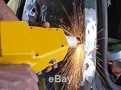 Stud Gun Welder Ding Puller Kit Auto Body Repair Tools Dent with 2 LB Slide Hammer