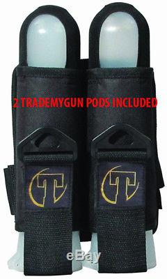 TAN Tippmann CRONUS TACTICAL. 68 CAL Paintball Gun Kit READY PLAY BLOOD PACKAGE