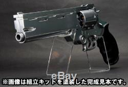 TRIGUN Movie Badlands Rumble Vash Gun unpainted assembly Model Kit