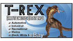 T-Rex Black textured truck Bed Liner kit, SMR-1000-K4, 4-quart kit with Spray Gun