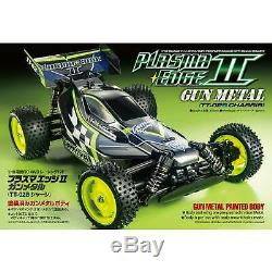 Tamiya America Inc 1/10 Plasma Edge II 4 Wheel Drive TT-02B Kit Gun Metal