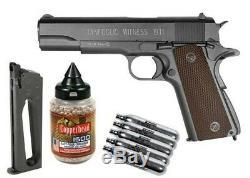 Tanfoglio Witness 1911 CO2 BB Air Gun Kit Blowback Metal Pistol. 177 Caliber