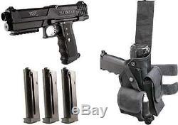 Tippmann TiPX Deluxe Paintball Gun TPX Pistol Kit Package Black 68 Cal Marker