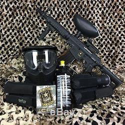 Tippmann US Army Alpha Black Elite Tactical FOXTROT Paintball Gun Package Kit