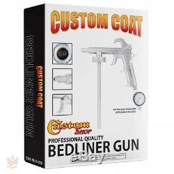 Truck Bed Liner Spray Paint U-Pol Raptor Black Urethane Spray-On Kit Gun Custom