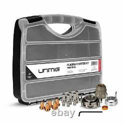 UNIMIG SC30 Plasma Torch Starter Kit Viper Cut 30 Welding Gun Spares Tips UMSK30