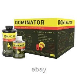 USC 20002 Dominator Black Urethane Truck Bed Liner Spray-On Kit with Gun 2000-2