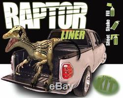 U-POL RAPTOR UP0820 Black Durable Truck Bed Liner Kit (Gun Not Included)