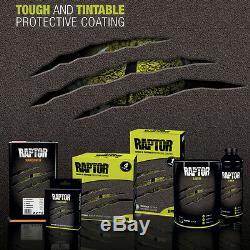 U-POL Raptor Tintable Dove Gray Spray-On Truck Bed Liner Spray Gun, 8 Liters