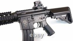 Umarex Elite Force M4 CQB KIT AEG Automatic BB Rifle Airsoft BLK with Pack of BBs