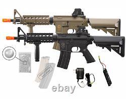 Umarex Elite Force M4 CQB KIT AEG BB Rifle Airsoft with Wearable4U Bundle