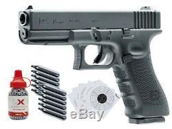 Umarex Glock 17 Gen4 CO2 Blowback. 177 BB Gun Kit 0.177 cal Incl. CO2 1500 BB