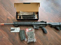 Umarex HK417DV2 GBBR 6mm Airsoft Gas Blowback Rifle (by VFC) rare with DMR Kit