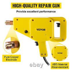 VEVOR Complete Electric Stud Welder Gun Body Dent Repair Kit with Puller Hammer