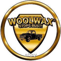 WOOLWAX 4 Quarts Undercoating Kit. PRO GUN & 18 Wand. BLACK