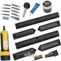 Wheeler Scope Mounting Kit Combo 1/30mm Ring Lapping Gun Repair Tool Brand New