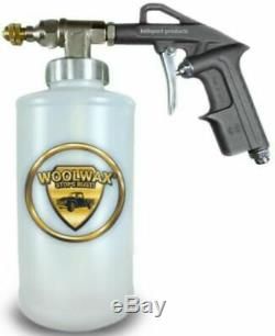 Woolwax Undercoating kit #1 ONE Gallon Kit with PRO GUN with2 wands. Clear or Black
