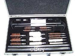 126 Pcs Nettoyage Pistolet Universel Kit Pistolet Fusil Fusil De Chasse Arme À Feu Gun Cleaner Nouveau