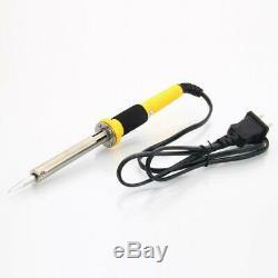 18pcs 110v 60w Électrique À Souder Pistolet Weldering Fer À Souder Kit De Réparation Outils