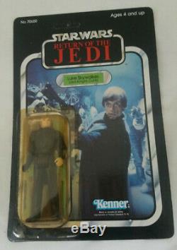 1983 Kenner Star Wars Rotj 77 Retour Luke Skywalker Chevalier Jedi Outfit Unpunched