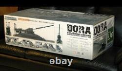 1/35 Dora Model Railway Gun Kit Seconde Guerre Mondiale Allemande Super Heavy Gun Nouveau