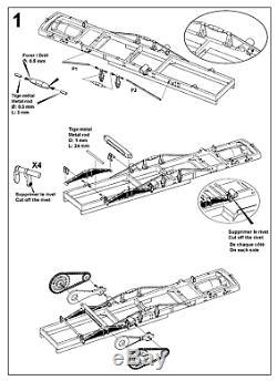 1/35 Échelle Ww1 De Peerless 13 Cwt Kit De Résine De Pistolet Aa Parties De Pe Décrites Modèle Militaire