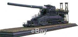 1/35 Seconde Guerre Mondiale Allemande Dora 80cm De Super Gun Railway Lourd Modèle Kit (schwerer Gustav)